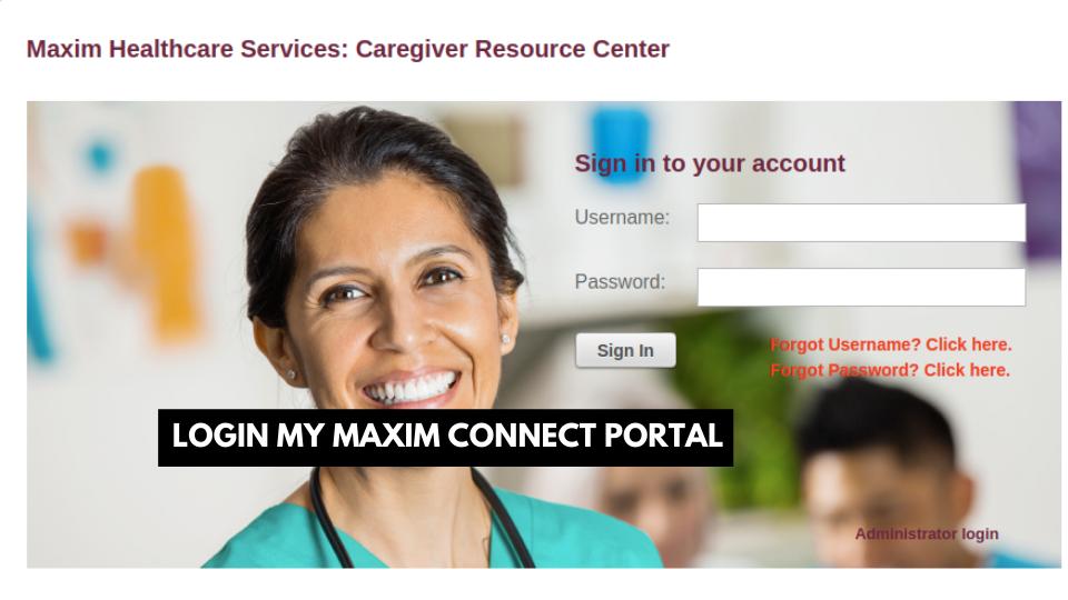 mymaximconnect.com training
